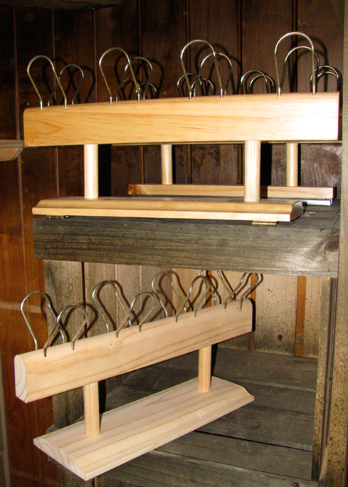 Pendula woodturners shoe storage system